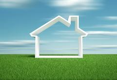 home symbol - stock illustration