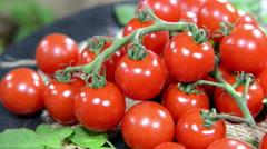 Heap of tomatoes (not loopable) Stock Footage
