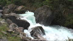Beautiful Blue stream going down HD - stock footage