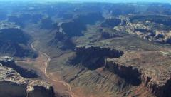 Canyon From Air 3Clips Combo HD - stock footage