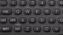 Text Message Keypad HD - stock footage