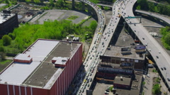 New York City Traffic Jam Stock Footage