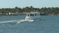 Boating in Key West Stock Footage