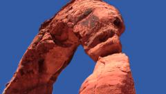 Delicate Arch at National Park  HD Stock Footage
