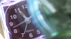 Awesome Rotating Crazy Clocks Time II HD Stock Footage