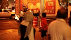 Las Vegas - Transformer And Boy - stock footage
