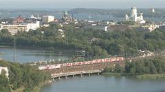 Helsinki Old Town Stock Footage