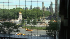 Columbus Circle New York City HD Stock Footage