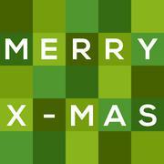 Merry chrismas (x-mas) card Piirros