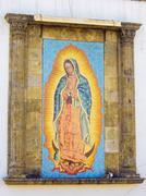 Our Lady of Guadalupe shrine - stock photo
