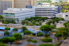 Office buildings at Downtown Miami - stock photo