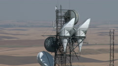 Communications Tower - stock footage