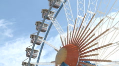 Big Ferry Wheel Stock Footage