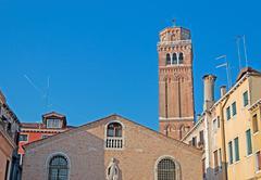 san pietro steeple - stock photo