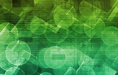 Digital science Stock Illustration