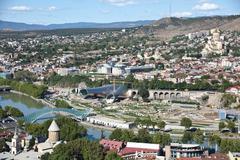 City view Tbilisi, Georgia - stock photo