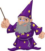 wizard - stock illustration