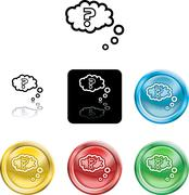 Stock Illustration of question query icon symbol