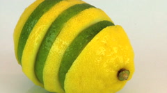 Lemon and Lime Zoom Out HD Arkistovideo