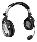 Microphone headset Piirros