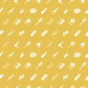 Stock Illustration of seamless cosmetics background texture