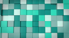 Abstract Cube Animation - stock footage