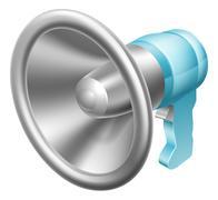 Megaphone or bullhorn Piirros