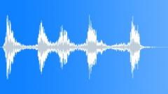 Mutt dog barking with whirr - sound effect