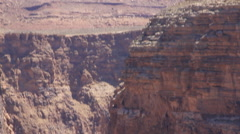 Tilt up and down Little Colorado River Gorge Stock Footage