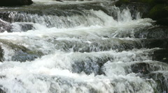 Rapids in Slow Motion on the Bald River - 3 - stock footage