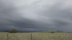 Storm Time Lapse of Developing Cumulonimbus - stock footage