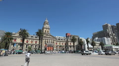 City Hall Capetown Stock Footage