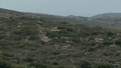 Ruins in Naxos - stock footage