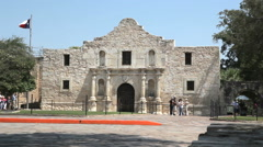 San Antonio Alamo - stock footage