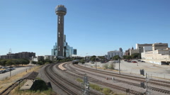 Dallas Train Stock Footage