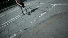 Seattle Pedestrians Stock Footage