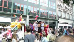 Gay Pride France, Strasbourg Stock Footage