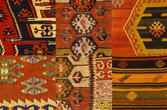 traditional anatolian pattern - stock photo