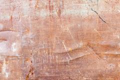 Rusty metallic texture - stock photo