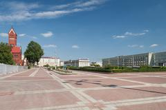 Stock Photo of independance square, minsk