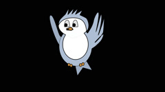 Cartoonbird Stock Footage
