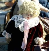 Old doll Stock Photos