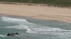 Amphibious assault, RIMPAC 2014 Stock Footage