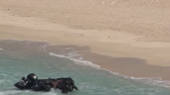 Amphibious assault, RIMPAC 2014 Stock Footage