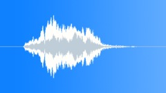 Wood Squeal, Hinges, Door, Screak, Shrill, Reverberant, V04 - sound effect