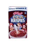 box of kellogg's cocoa krispies - stock photo