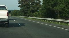 2051 Car Crash on Highway, HD Stock Footage