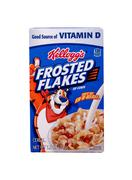 Box of kellogg's frosted flakes cereal Stock Photos