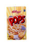 box of kellogg's corn pops cereal - stock photo