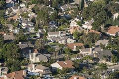 Southern california suburbia Stock Photos